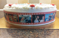 Photo Birthday Cake sides with Filmstrip