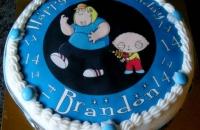 Family Guy Image Cake