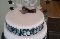 Filmstrip Cake