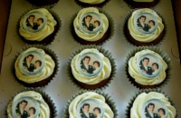 Silver Anniversary Cup Cakes