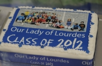 School Leavers Cake  with photograph