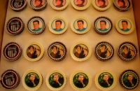 Cup Cakes with Old Photographs